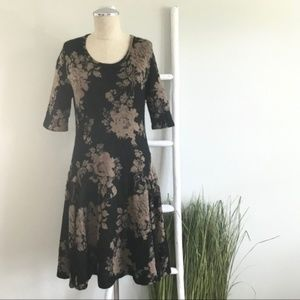 Peruvian Connection | Cotton Alpaca Floral Dress